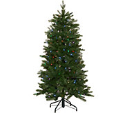 Santas Best 5 Green 137 Function LED Smart Tree - H212890