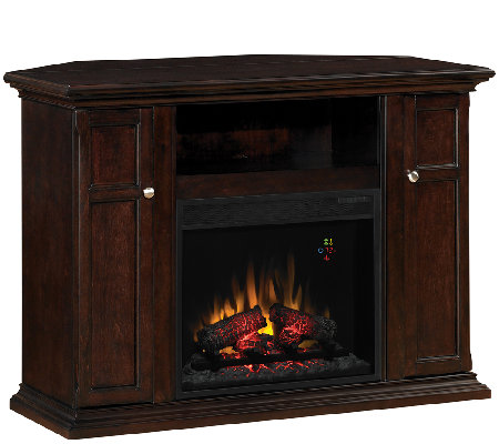 Twin Star Malibu Convertible Media Mantel Fireplace w