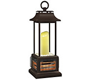 Duraflame Flameless Candle Infrared Outdoor Heater Lantern - H290090