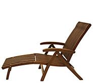 Outdoor Interiors Eucalyptus Venetian Lounger - H295390