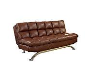Aristo I Faux-Leather Futon Sofa - H365190