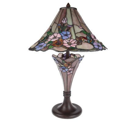 Tiffany Style Rose Victorian Double Lit 24 Quot Table Lamp