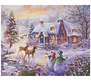 Illuminart 20x16 Christmas Miracle Canvas Art - H200491