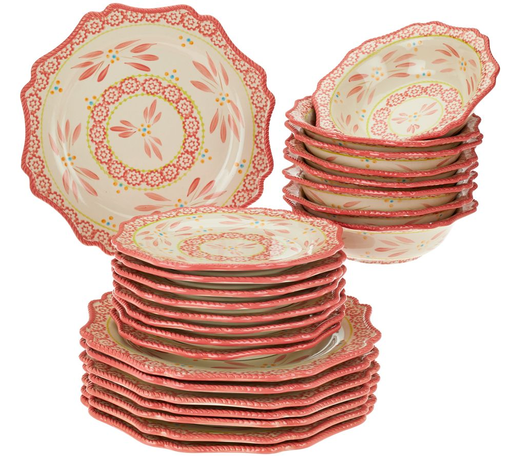 Temp-tations Old World 24-piece Dinnerware Service for 8 - Page 1 ...