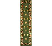 Royal Palace Special Edition 23 x 96 Fleur de Lis Wool Rug - H207291