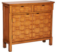 Honeycomb Cupboard with 2 Drawers and 2 Doors by Valerie