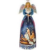 Jim Shore Heartwood Creek Oversized Nativity Angel Statue - H211991