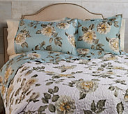 3-Piece Full Floral Quilt Set by Valerie - H215091