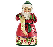 Jim Shore Heartwood Creek Pint-Sized Santa Figurine - H281491