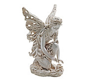 Design Toscano Fiona the Flower Fairy Garden Statue - H282691