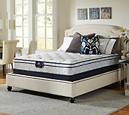 Serta Perfect Sleeper Glitz Euro Top Twin Mattr ess Set - H286691