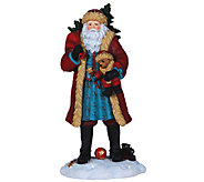 Limited Edition Santa and Teddy Figurine by Pipka - H286791