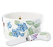 Lenox Butterfly Meadow Dip Bowl and Spreader - H288491