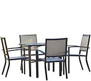 Cosco Serene Ridge 5-Piece Aluminum Dining Set - H289091