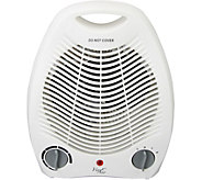 Vie Air 1500W Portable 2-Settings White OfficeHeater - H294191
