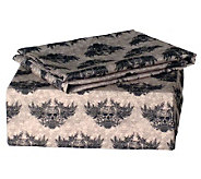 Veratex Winged Skull Twin Sheet Set - H351991