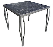 Home Styles Outdoor Glen Rock Marble Square Bistro Table - H367891