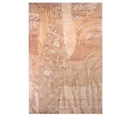 Momeni New Wave Ferns 76 x 96 Handmade WoolRug - H161692