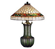 Tiffany Style 25H Bungalow Pinecone Table Lamp - H181292
