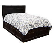 Northern Nights Avion 100Cotton Queen Quilted Coverlet - H18892