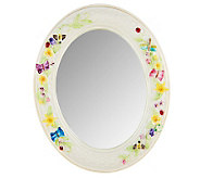 Belleek Butterfly Meadow 6 x 8 Mirror - H198792