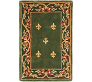 Royal Palace Special Edition 3x 46 Fleur de Lis Wool Rug - H207292