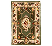 As Is Royal Palace French Savonnerie 3 x 46 Wool Rug - H209992