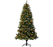 As IsHallmark 7.5 FallenSnow Christmas Tree Tree with Quick Set Technology - H210292