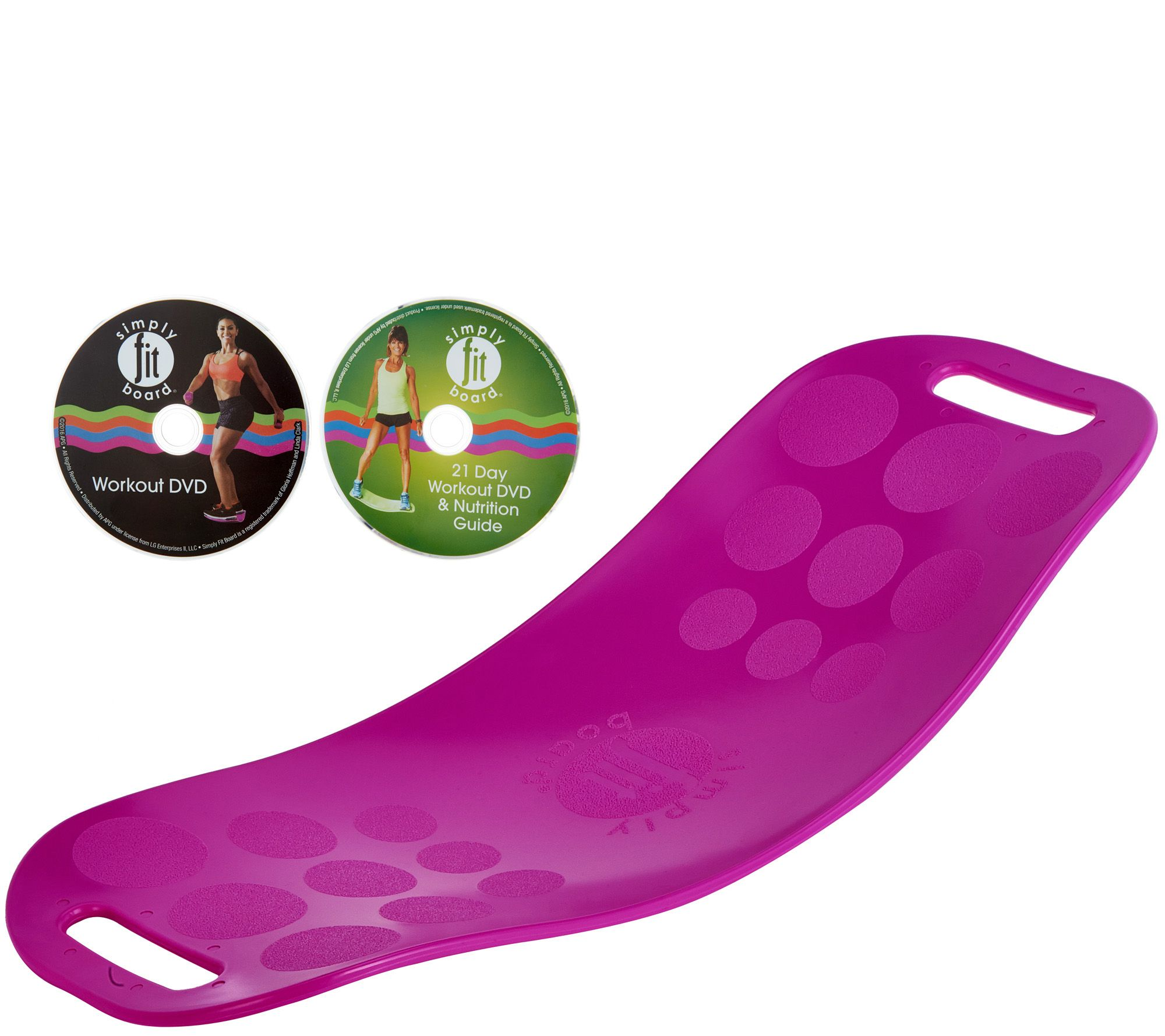 Blue apron qvc - Simply Fit Core Workout Board With 2 Dvd S By Lori Greiner H211192