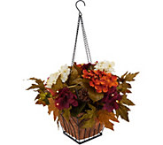 Bethlehem Lights Prelit Harvest Hanging Basket w/Timer - H212492
