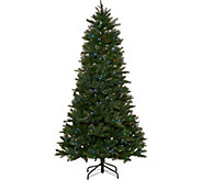 Santas Best 7.5 Green 137 Function LED Smart Tree - H212892