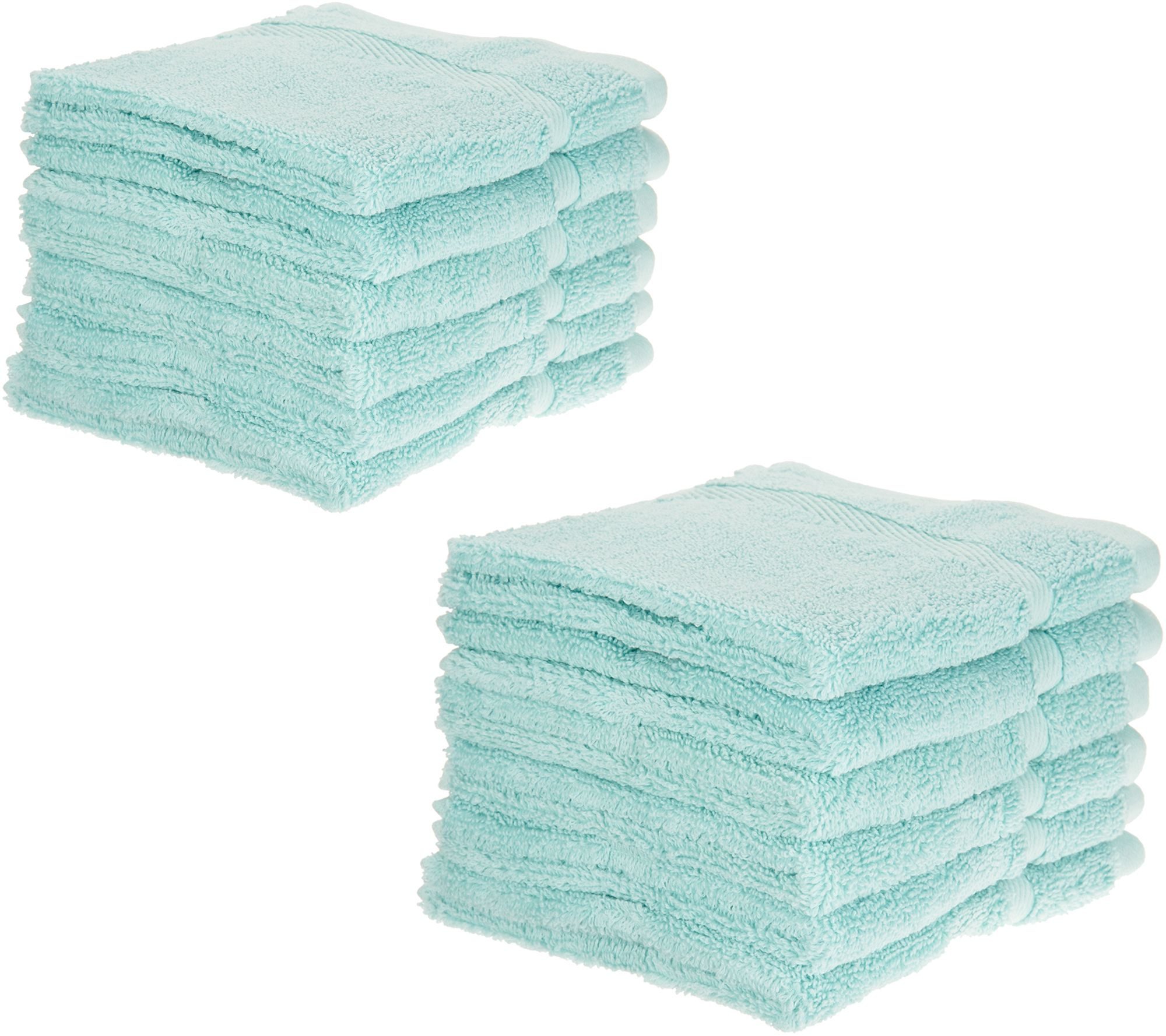 Home Reflections S/12 Cotton Performance Wash Cloth Set   H213192