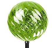 Exhart Solar Spiral Orb Garden Stake - H285592