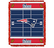 NFL Woven Jacquard Throw Field 36 x 46 - H290092