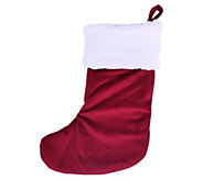 Berkshire Blanket Classic Red and White Stocking - H294792