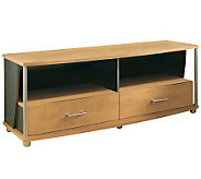 South Shore City Life 50 TV Stand - Honeydew/Charcoal - H358592