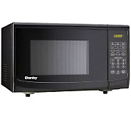 Danby 0.7 Cu. Ft. 700W Countertop Microwave Oven - Black - H362692