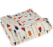 Berkshire Blanket American Lodge 55x70 Velvet Soft Throw - H206393