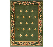 Royal Palace Special Edition 5x7 Fleur de Lis Wool Rug - H207293