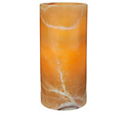 7.5 Marble Flameless Candle by Valerie - H207993
