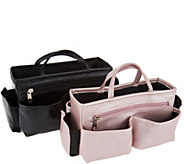 As Is Ready Set Go Set of 2 Bag Organizers by Lori Greiner - H211793