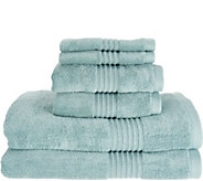 Northern Nights 100Supima Cotton 6 Piece Luxury Towel Set - H213193