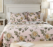 3-Piece King Floral Quilt Set by Valerie - H215093