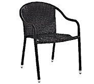 Crosley Palm Harbor Outdoor Wicker Stackable Chairs - H282893