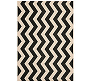 Safavieh 53 x 77 Vertical Zigzag Indoor/Outdoor Rug - H283093