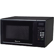 Magic Chef 1.1CF 1000W Microwave with Digital Touch - Black - H287093
