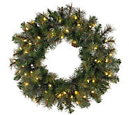 42 Prelit Modesto Mixed Pine Wreath by Vickerman - H287693