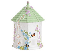 Lenox Butterfly Meadow Gazebo Cookie Jar - H288493