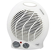 Vie Air 1500W Portable 2-Settings White Home Heater - H294193