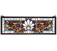 Tiffany Style Beveled Ellsinore Transom WindowPanel - H131394